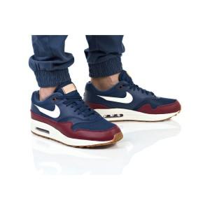 נעלי הליכה נייק לגברים Nike AIR MAX 1 - כחול/אדום