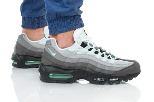 נעלי הליכה נייק לגברים Nike AIR MAX 95 - אפור/שחור
