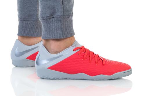 נעליים נייק לגברים Nike HYPERVENOM 3 ACADEMY IC - אדום