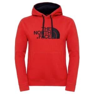 ביגוד דה נורת פיס לגברים The North Face Drew Peak Pullover Hood - אדום