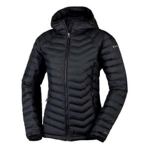 בגדי חורף קולומביה לנשים Columbia Powder Lite Hooded - שחור