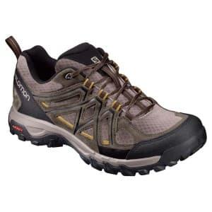 נעלי טיולים סלומון לגברים Salomon Evasion 2 Aero - חום/שחור