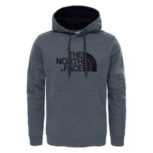 ביגוד דה נורת פיס לגברים The North Face Drew Peak Pullover Hood - אפור כהה