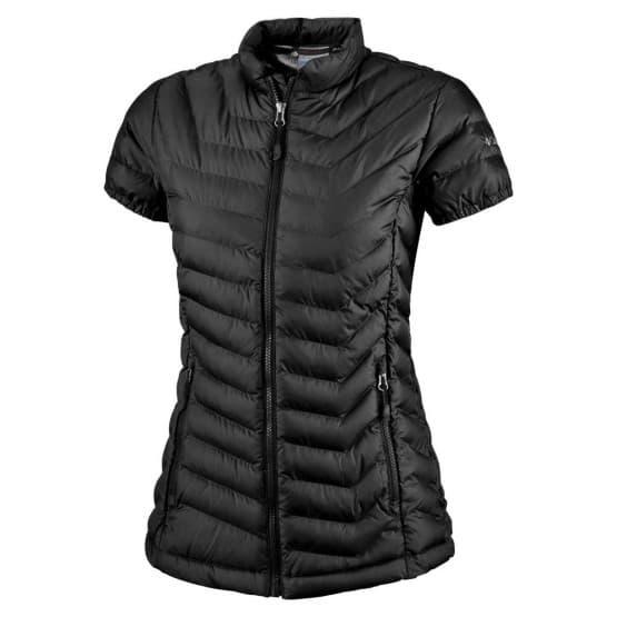 בגדי חורף קולומביה לנשים Columbia Powder Lite Cap Sleeve - שחור