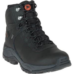 נעלי טיולים מירל לגברים Merrell Vego Mid Leather Waterproof - שחור
