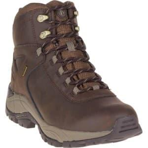 נעלי טיולים מירל לגברים Merrell Vego Mid Leather Waterproof - חום