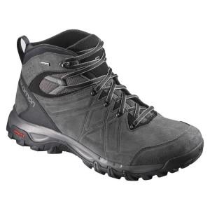 נעלי טיולים סלומון לגברים Salomon Evasion 2 Mid LTR Goretex - שחור/אפור