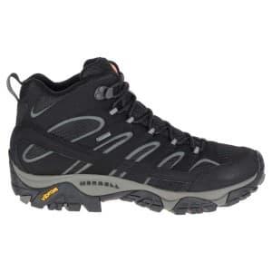 נעלי טיולים מירל לגברים Merrell Moab 2 Mid Goretex - שחור