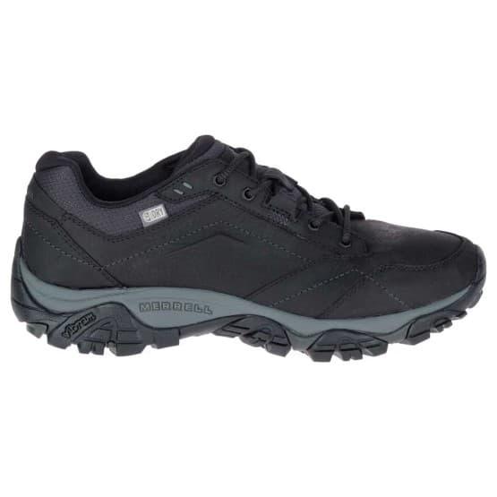 נעלי הליכה מירל לגברים Merrell Moab Adventure Lace Waterproof - שחור