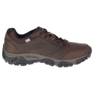 נעלי הליכה מירל לגברים Merrell Moab Adventure Lace Waterproof - חום
