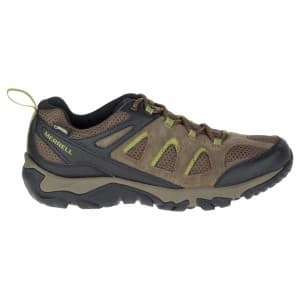 נעלי הליכה מירל לגברים Merrell Outmost Vent Goretex - חאקי