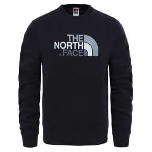 ביגוד דה נורת פיס לגברים The North Face Drew Peak Crew - שחור
