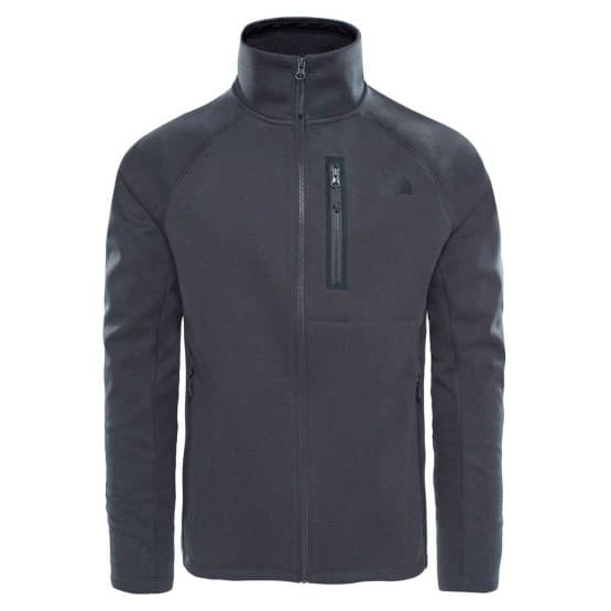 בגדי חורף דה נורת פיס לגברים The North Face Canyonlands Soft Shell - אפור כהה