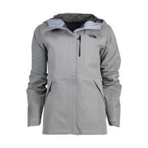 בגדי חורף דה נורת פיס לנשים The North Face Dreyzzle - אפור בהיר