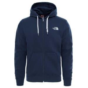 בגדי חורף דה נורת פיס לגברים The North Face Open Gate Full Zip Hoodie - כחול
