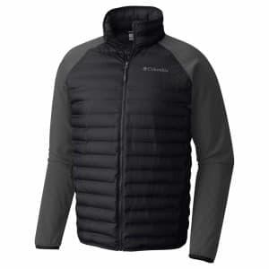 בגדי חורף קולומביה לגברים Columbia Flash Forward Hybrid - שחור/אפור