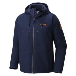 בגדי חורף קולומביה לגברים Columbia Loma Vista Hooded - כחול