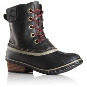 מגפיים סורל לנשים Sorel Slimpack II Lace - שחור