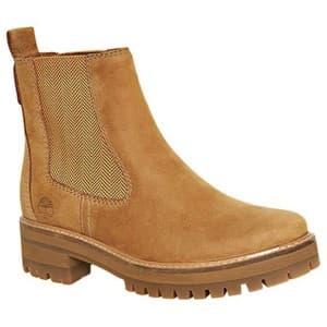 מגפיים טימברלנד לנשים Timberland ourmayeur Valley Chelsea Wide - חום