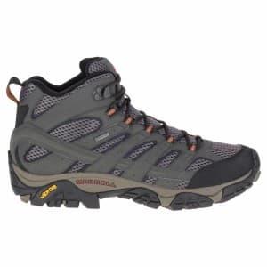 נעלי טיולים מירל לגברים Merrell Moab 2 Mid Goretex - אפור