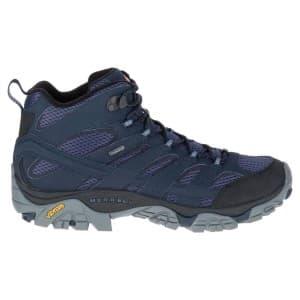 נעלי טיולים מירל לגברים Merrell Moab 2 Mid Goretex - כחול