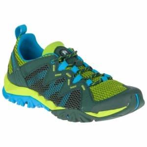 נעלי הליכה מירל לגברים Merrell Tetrex Rapid Crest - תכלת/צהוב