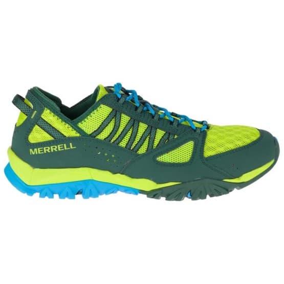 נעלי הליכה מירל לגברים Merrell Tetrex Surge Crest - כחול/צהוב