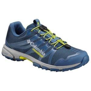 נעליים קולומביה לגברים Columbia Mountain Masochist IV - כחול/צהוב