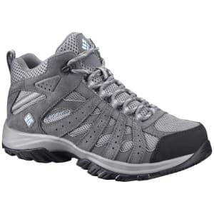 נעלי טיולים קולומביה לנשים Columbia Redmond XT Mid Waterproof - אפור