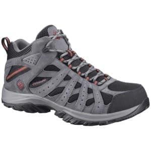 נעלי טיולים קולומביה לגברים Columbia Redmond XT Mid Waterproof - שחור/אפור