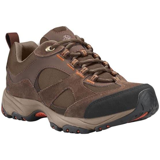 נעלי טיולים טימברלנד לנשים Timberland Broughton Trail Fabric Leather - חום