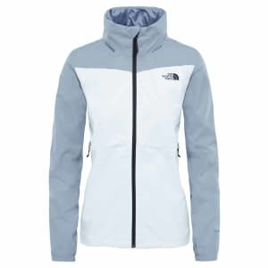 בגדי חורף דה נורת פיס לנשים The North Face Resolve Plus - לבן/אפור