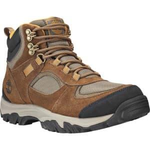 נעלי טיולים טימברלנד לגברים Timberland Mt Major Mid - חום/צהוב