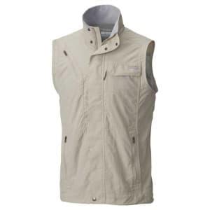 בגדי חורף קולומביה לגברים Columbia Silver Ridge II - לבן/אפור