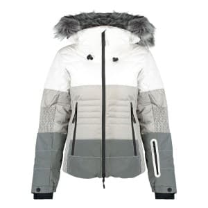 בגדי חורף סופרדרי לנשים Superdry Snow Cat Ski Down - לבן