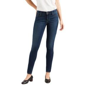 ביגוד ליוויס לנשים Levi's 710 Super Skinny  - כחול כהה
