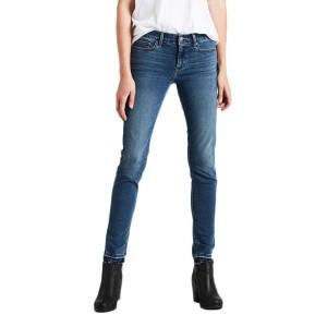 ביגוד ליוויס לנשים Levi's 711 Skinny  - ג'ינס בהיר