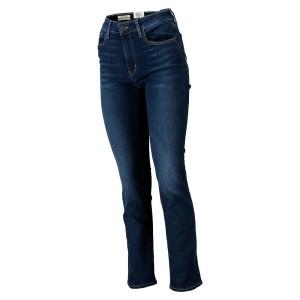 ביגוד ליוויס לנשים Levi's 712 Slim  - כחול כהה