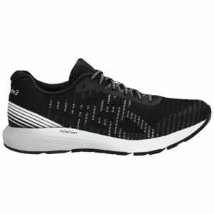 נעליים אסיקס לגברים Asics Dynaflyte 3 - שחור/לבן