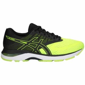 נעליים אסיקס לגברים Asics Gel Pulse 10 - שחור/צהוב