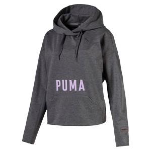 ביגוד פומה לנשים PUMA Fusion Hoody - אפור