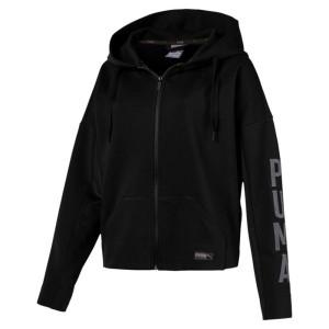 בגדי חורף פומה לנשים PUMA Fusion Full Zip Hoody - שחור