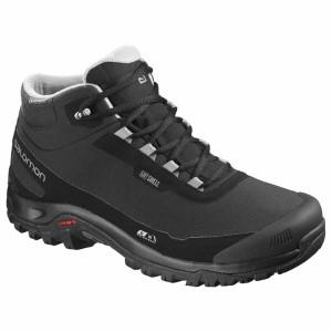 נעלי טיולים סלומון לגברים Salomon Shelter CS WP - שחור