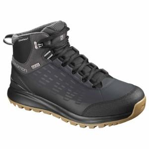 נעלי טיולים סלומון לגברים Salomon KAIPO CS WATERPROOF 2 - שחור/חום