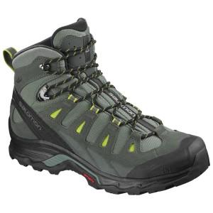 נעלי טיולים סלומון לגברים Salomon Quest Prime Goretex - אפור/כחול