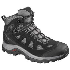 נעלי טיולים סלומון לגברים Salomon Authentic LTR Goretex - שחור/אפור