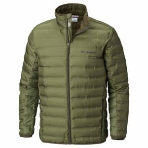 בגדי חורף קולומביה לגברים Columbia Lake 22 Down - ירוק