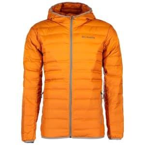 בגדי חורף קולומביה לגברים Columbia Lake 22 Down Hooded - כתום