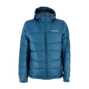 בגדי חורף קולומביה לגברים Columbia Quantum Voyage II Hooded - כחול