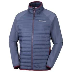 בגדי חורף קולומביה לגברים Columbia Flash Forward Hybrid - כחול